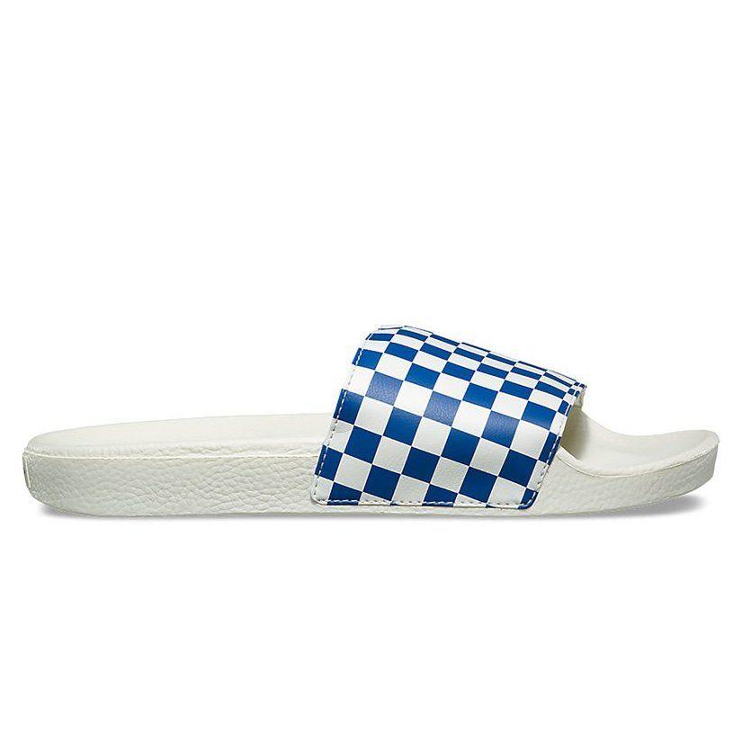 STEAL: Vans Checkerboard Slides