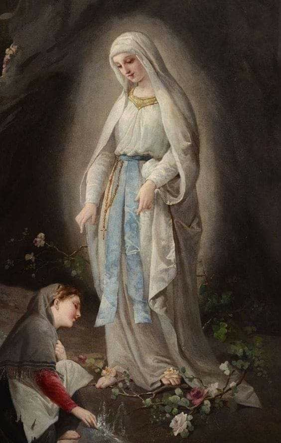 Fr Stephen Gemme's photo on our lady of lourdes