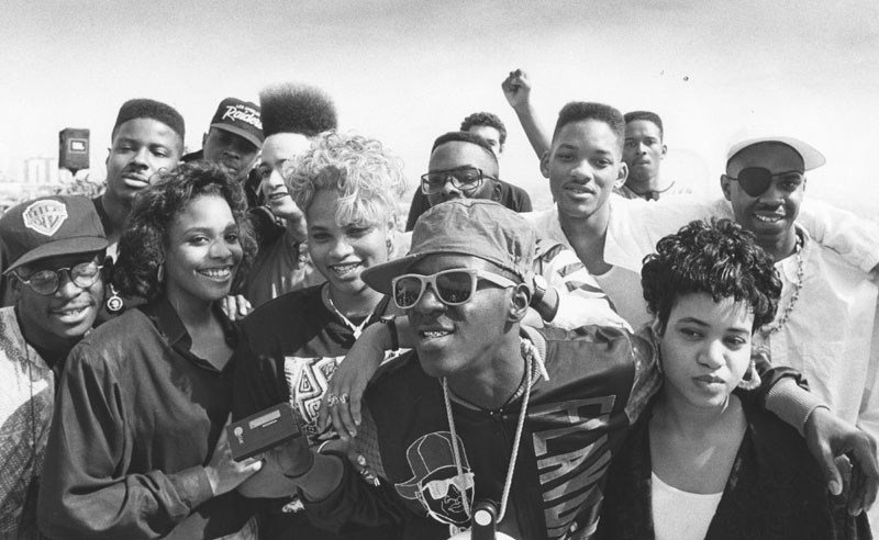 In 1989, 30 years ago, rappers boycotted the #GRAMMYs because they refused to televise the award for best rap performance after issuing it for the first time!  We owe all the people in this photo a great deal. 🙏🏾 (📷: Will Smith)