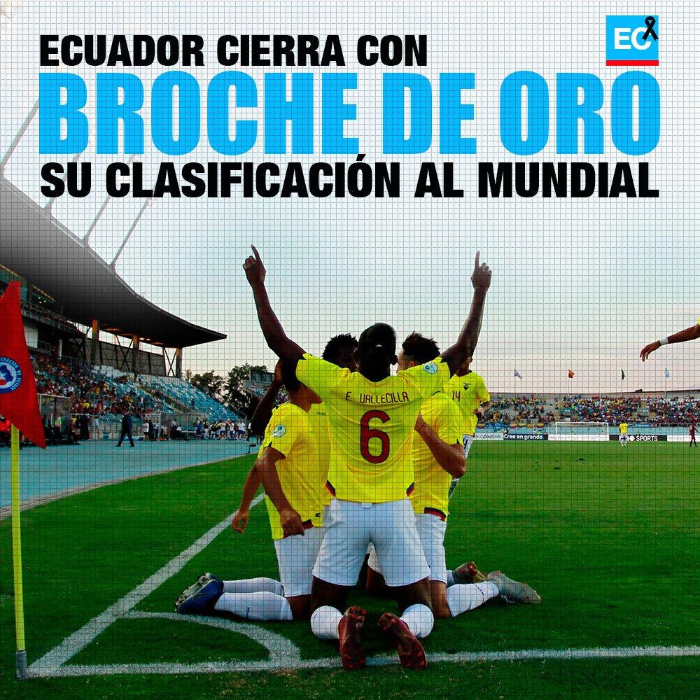 Sala de Prensa Ecuador's photo on #SudamericanoSub20