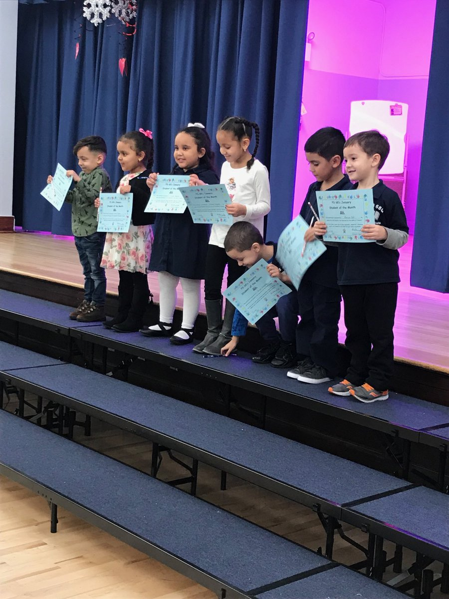Congratulations to our spectacular students.  #ps68q