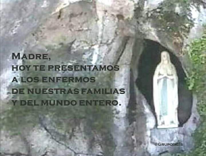 Ixcís's photo on Virgen de Lourdes