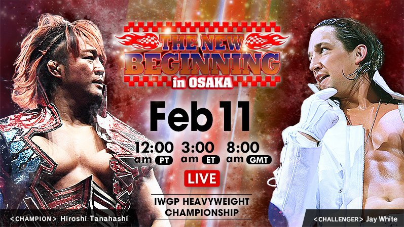 Major Title Change At NJPW New Beginning