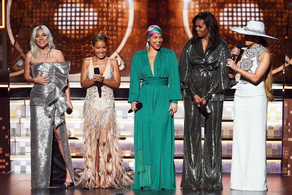 Michelle Obama. That's it, that's the tweet. #GRAMMYs https://t.co/spjFXnwrwl