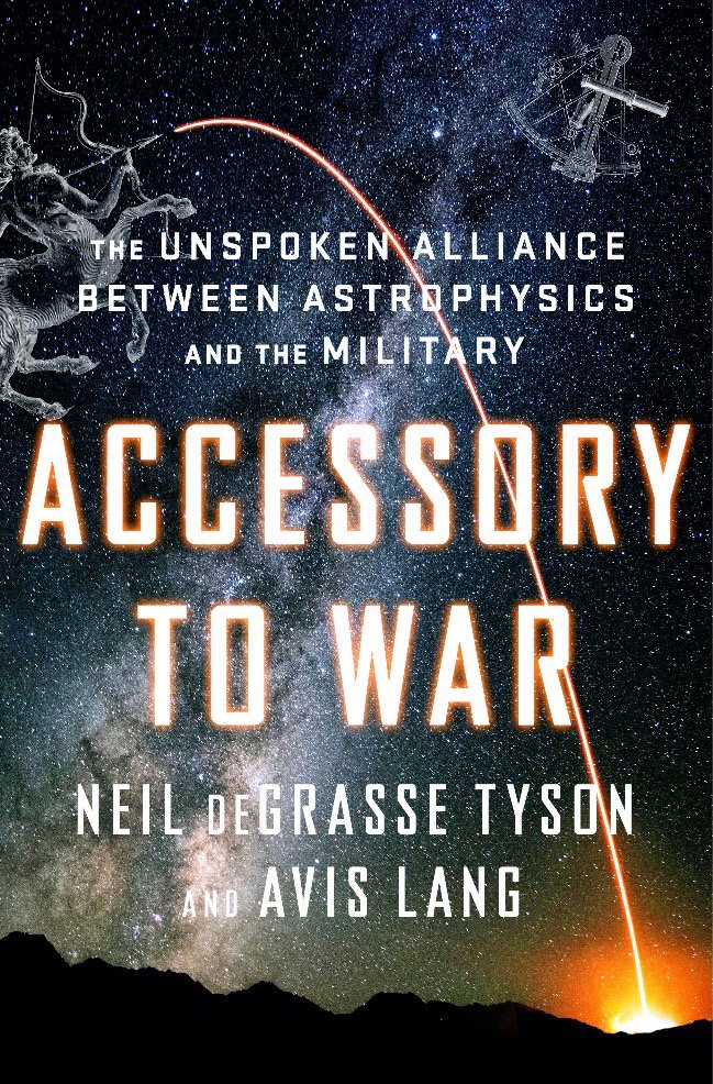 Good luck to @CourtneyBVance tonite. Nominated for Best Spoken Word #Grammy, narrating my recent book 'Accessory to War: The Unspoken Alliance Between Astrophysics & the Military'.  Stiff competition, though — including @TiffanyHaddish & @questlove.