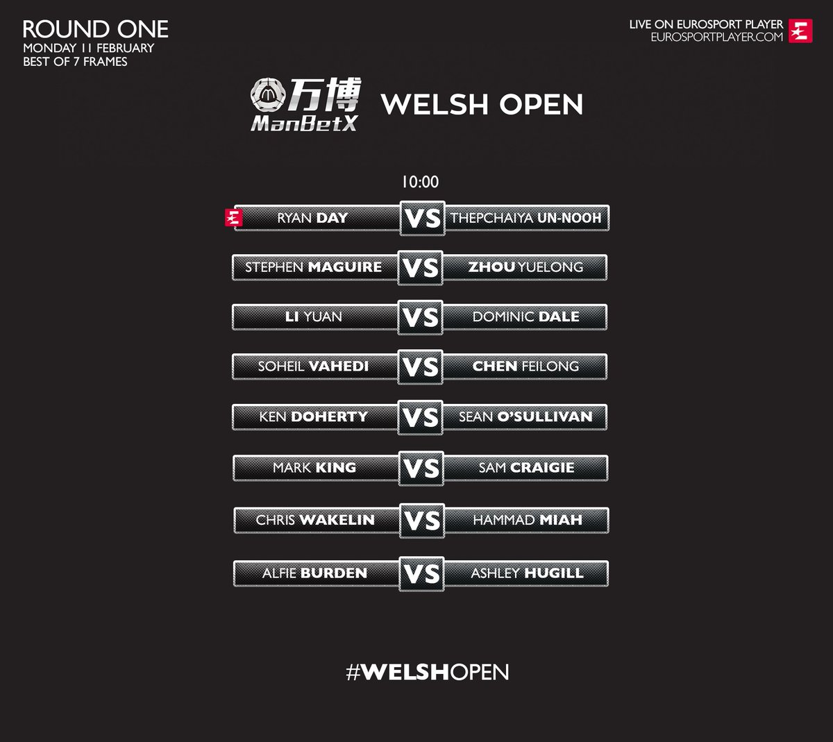 World Snooker's photo on Welsh Open