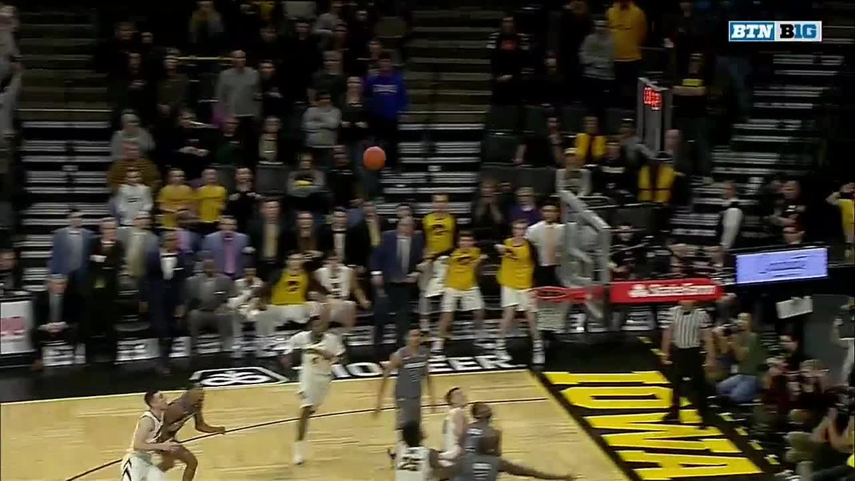 Iowa trailed by 15 with 4:30 to play…   Jordan Bohannon capped off a miraculous comeback! @IowaHoops