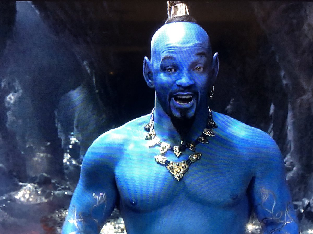 Erik Davis's photo on will smith as the genie