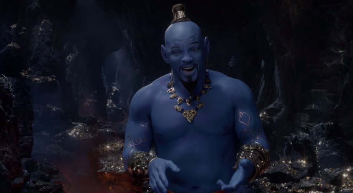 New Aladdin trailer from the 2019 Grammys introduces Will Smith's Genie https://t.co/n8GxAXLjs6