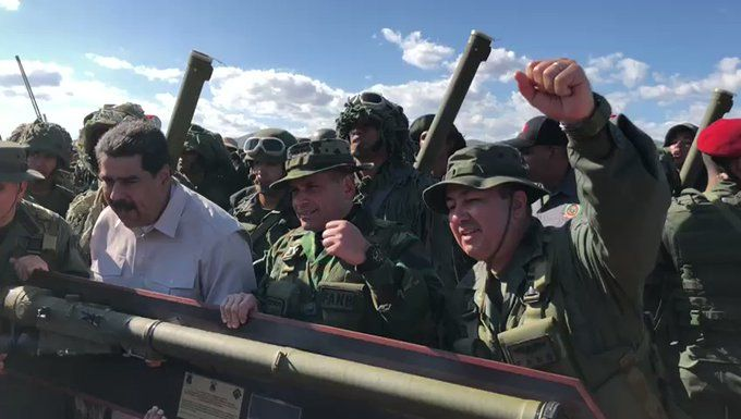 В Венесуэле начались масштабные военные учения