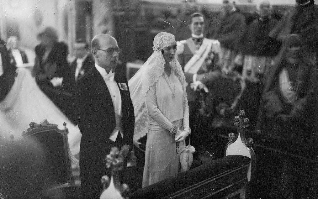 """RoyalArjan on Twitter: """"#OnThisDay 90 years ago: The wedding of ..."""