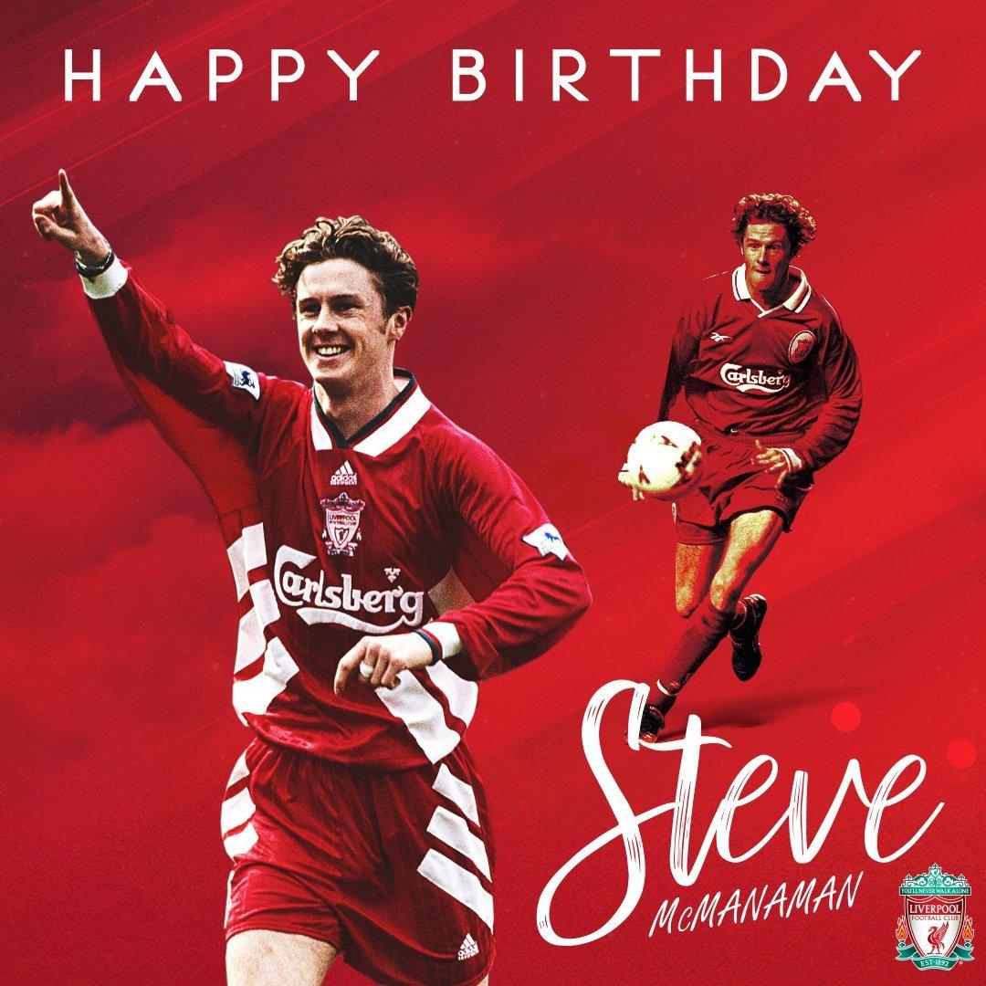 Happy Birthday Steve Mcmanaman