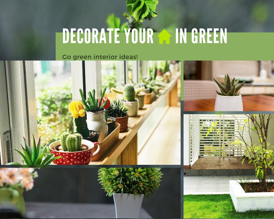 Go-Green interior ideas for your 🏠! Clickhere: https://bit.ly/2xZ71bc  #interiordesign #decoration #designinspiration #interiorlovers #finditstyleit #modernhome #interiordesire #interiordetails #housegoals #interior_and_living #dailydecordose #greenery #gogreen #mondaymotivation