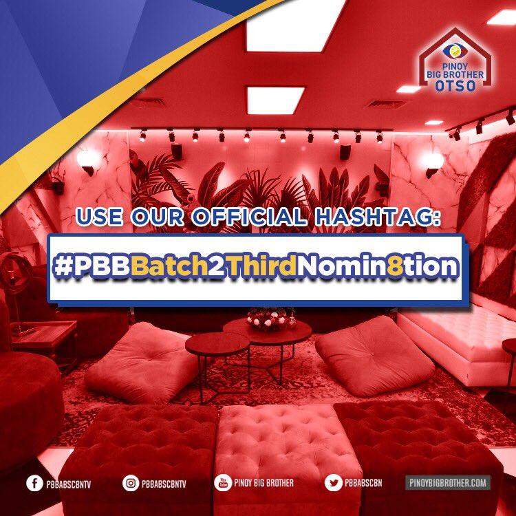 Pinoy Big Brother's photo on #PBBBatch2ThirdNomin8tion