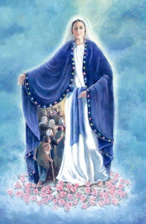 🦋Santa María🦋's photo on Nuestra Señora de Lourdes