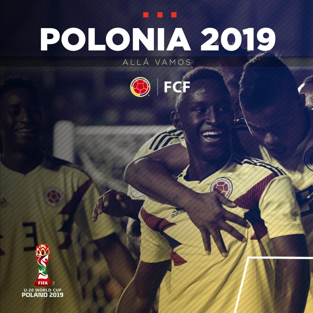 Selección Colombia's photo on Mundial Sub-20