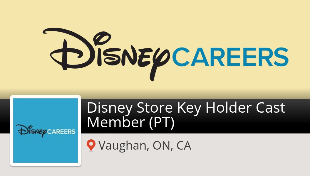 Disney is looking for a Disney Store #Key Holder Cast #Member (PT
