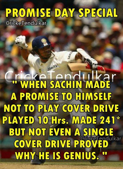 Sachin Tendulkar ЁЯЗоЁЯЗ│ Fans's photo on #PromiseDay