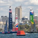 Image for the Tweet beginning: Watch #SydneySailGP LIVE all over