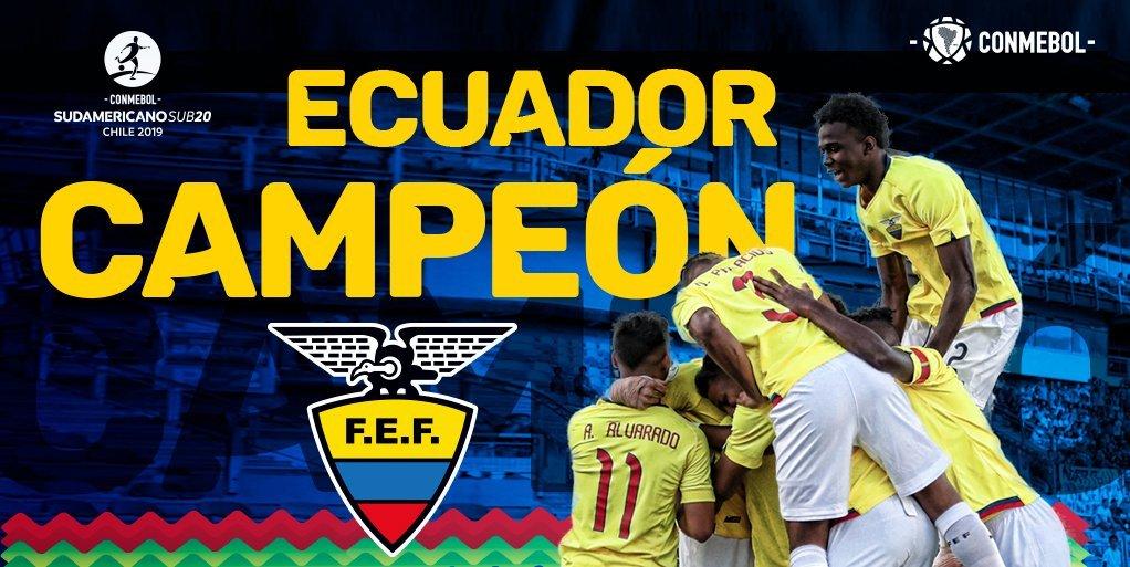 Ecuadorinmediato's photo on Mundial Sub-20
