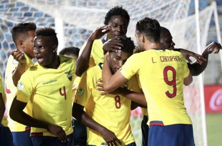 ¡Grande Ecuador! | Felicitaciones a la Selección Sub 20, porque hoy hicieron historia consagrándose como el campeón del #SudamericanoSub20. Querido @CampanaPablo no me puedo imaginar lo orgulloso que te sientes, te lo mereces.🇪🇨🙌🏻🏆