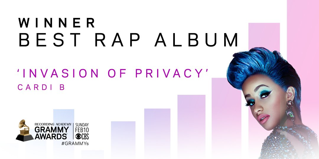 Recording Academy / GRAMMYs's photo on Rap Album