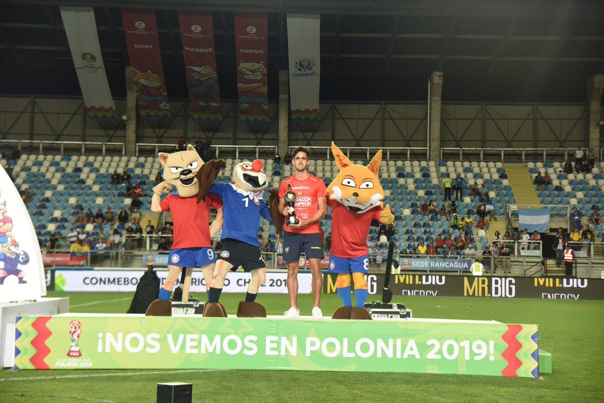 CONMEBOL.com's photo on #SudamericanoSub20