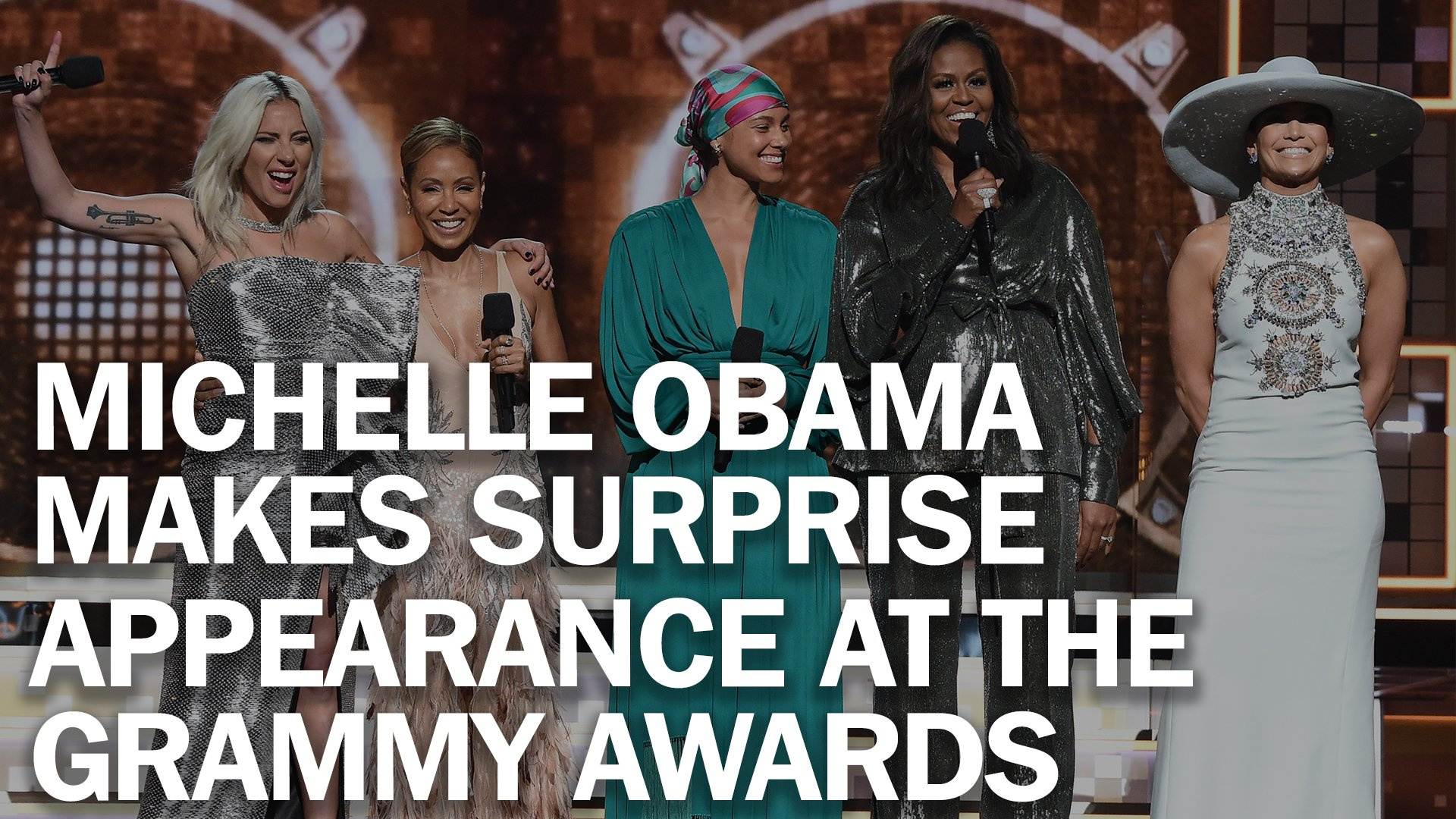 Michelle Obama brought the crowd to their feet at the 2019 #Grammys https://t.co/1OWRyZy4sY https://t.co/F3xRwBLKeM