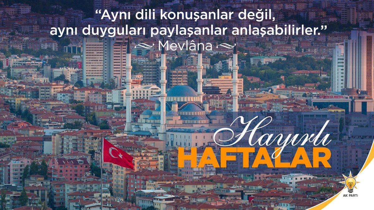 Mehmet ÖZHASEKİ's photo on #HayırlıHaftalar