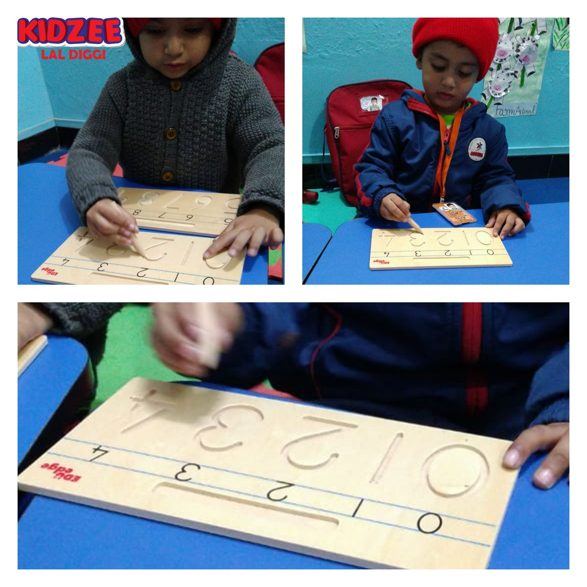 Trace the pattern-math time #KIDZEE #LALDIGGI #preschool
