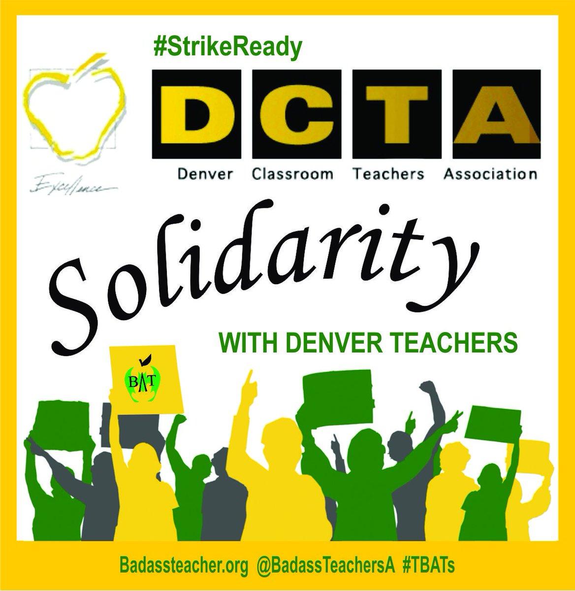 OklahomaBATs's photo on #DenverTeacherStrike