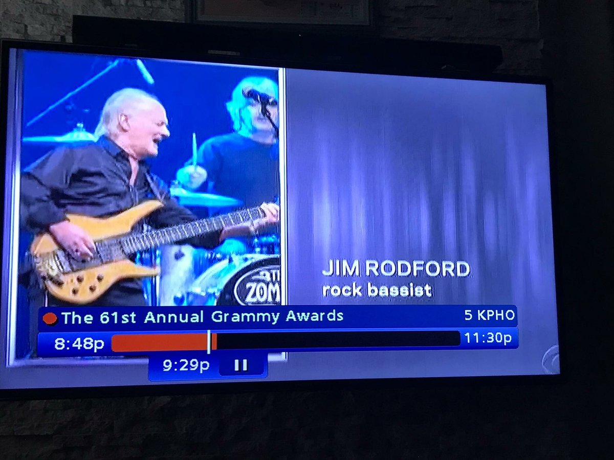 They just showed a photo of Jim Rodford  on the in memoriam section on the Grammys RIP 💔❤️💔 @TheKinks @TheZombiesMusic