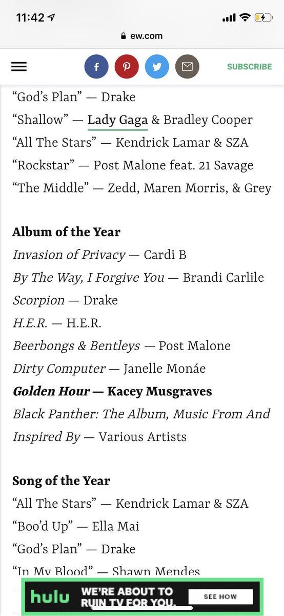 Nadia Lee's photo on #GrammyAwards2019
