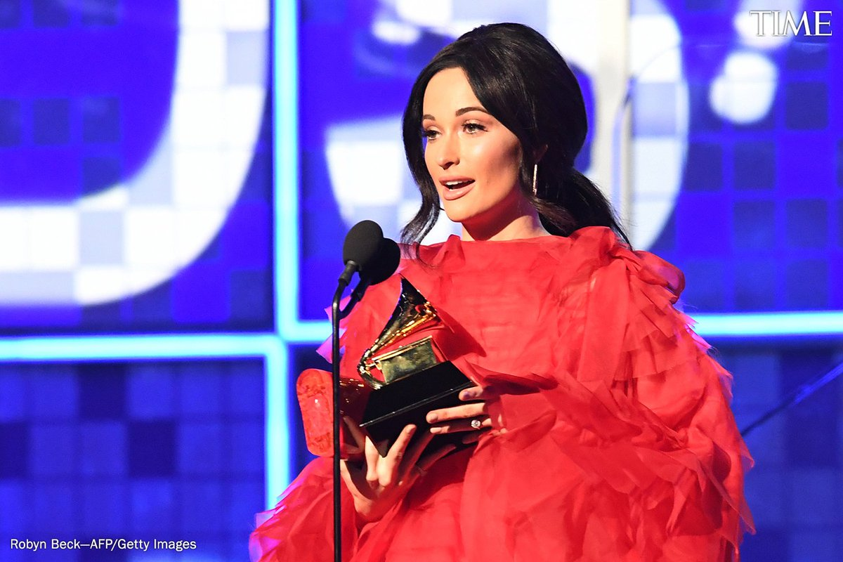 Kacey Musgraves wins Album of the Year for &#39;Golden Hour.&#39; See the full list of winners from the 2019 #Grammys  here:  http:// mag.time.com/U5iVI47  &nbsp;  <br>http://pic.twitter.com/AtWSw9kP3e