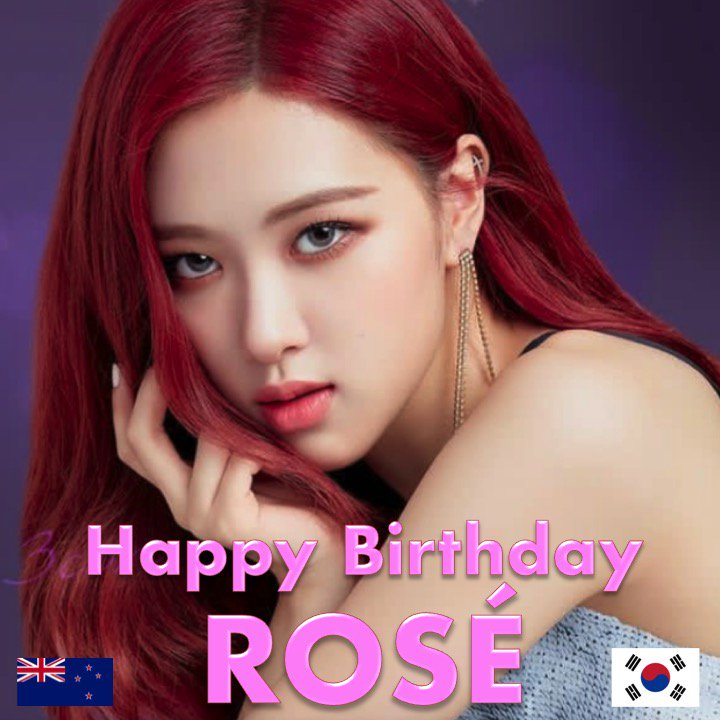 7d58833de3b1 Happy 22nd Birthday to  BLACKPINK s beautiful and multitalented  Rosé!   HappyRoséDay! ❤