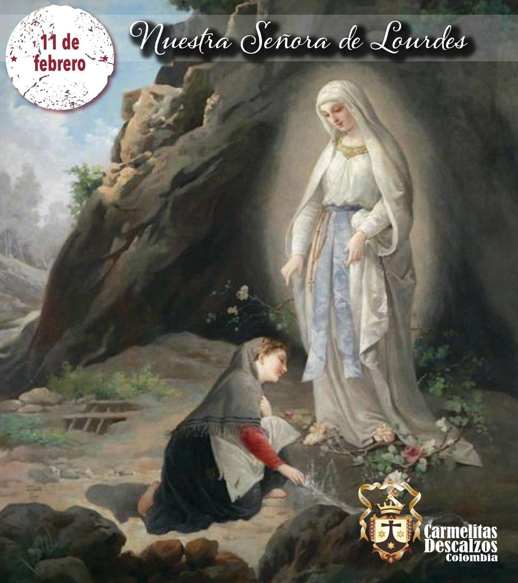 OCD COLOMBIA's photo on Nuestra Señora de Lourdes