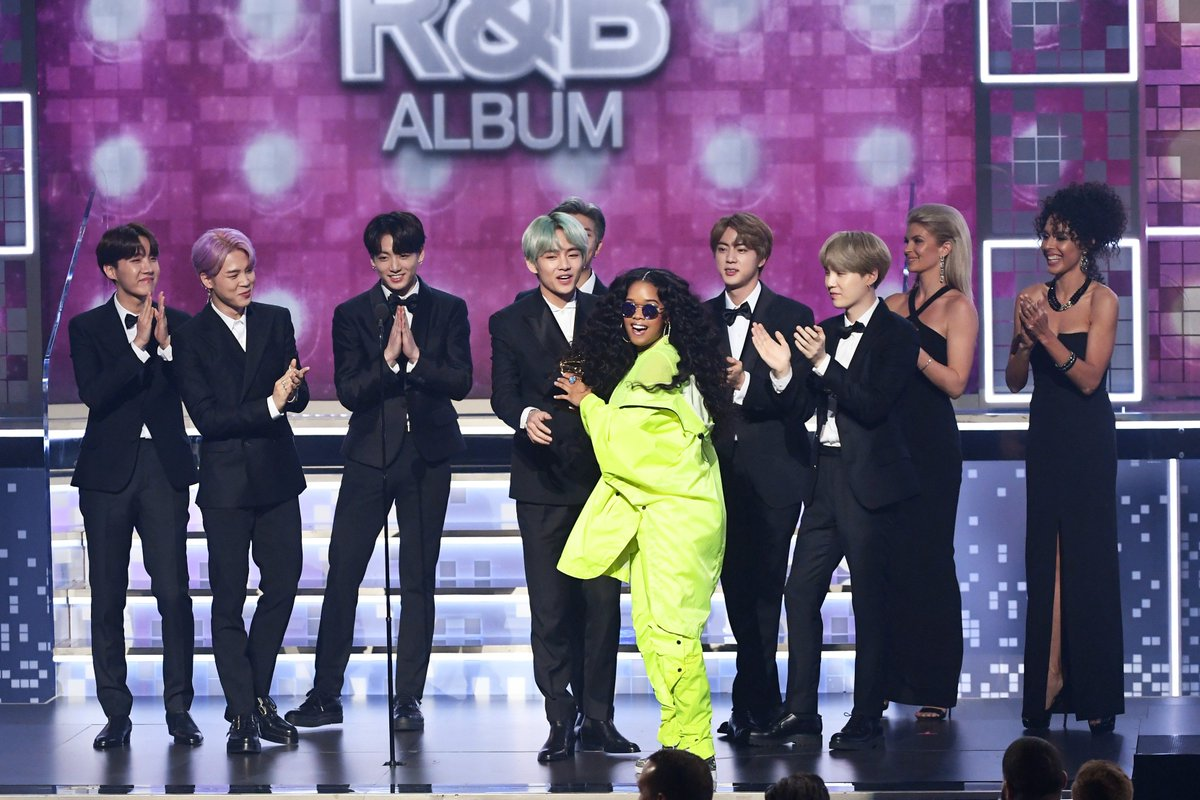 Give us the collaboration we TRULY deserve! 💜 #GRAMMYs 😍 #TearItUpBTS