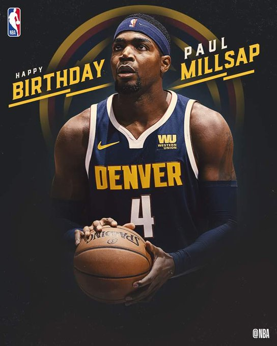 Join us in wishing Paul Millsap of the Denver Nuggets a HAPPY 34th BIRTHDAY!