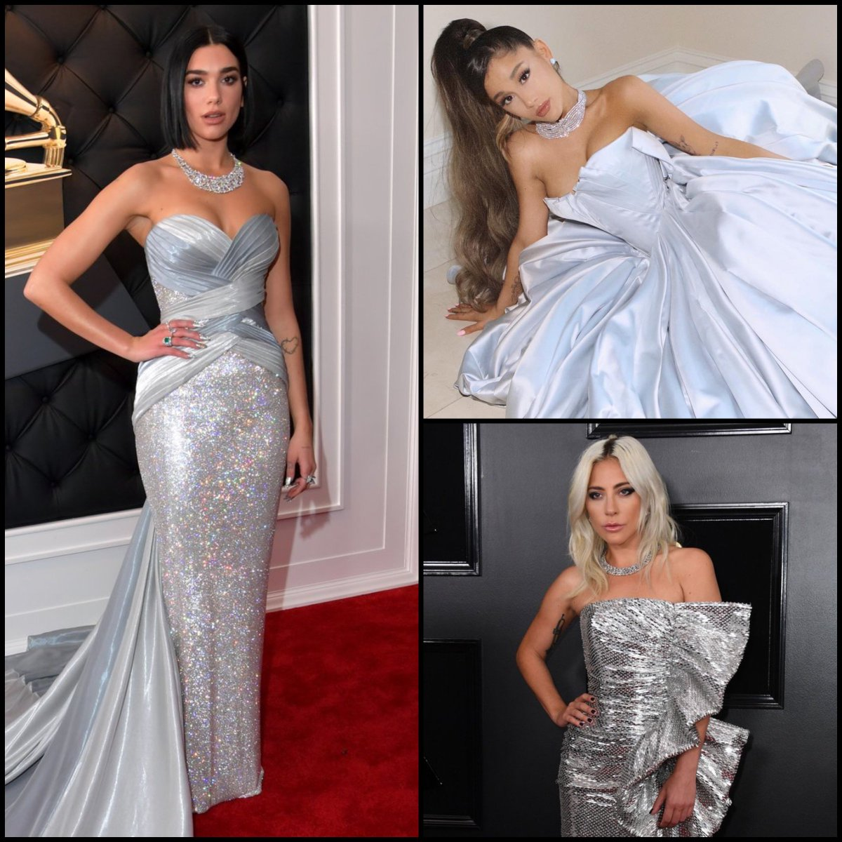 Congrats to @DUALIPA @ArianaGrande @ladygaga and all the winners at the #GRAMMYs tonight!