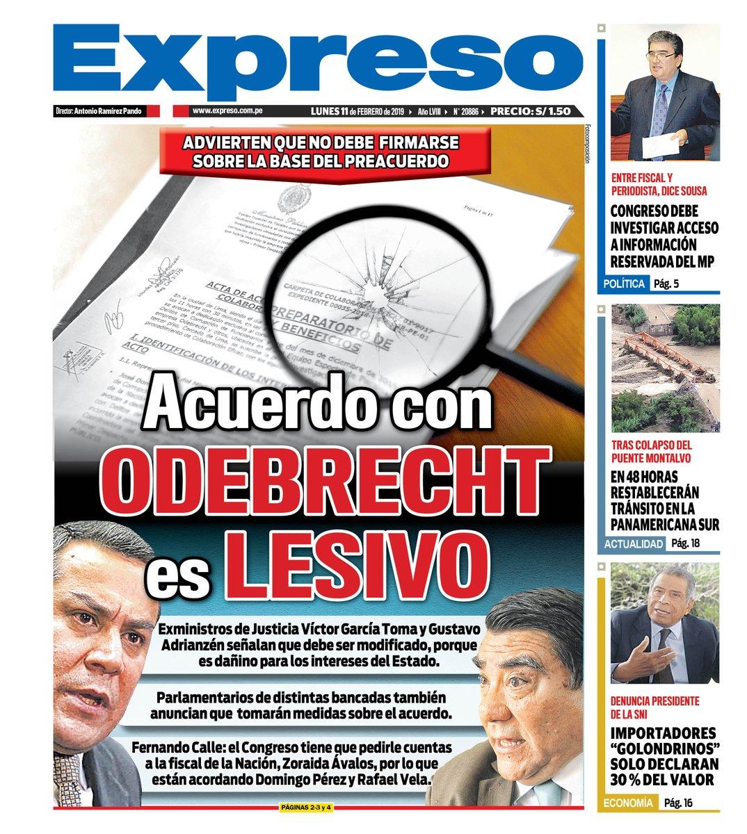 Diario Expreso Perú's photo on Lunes 11