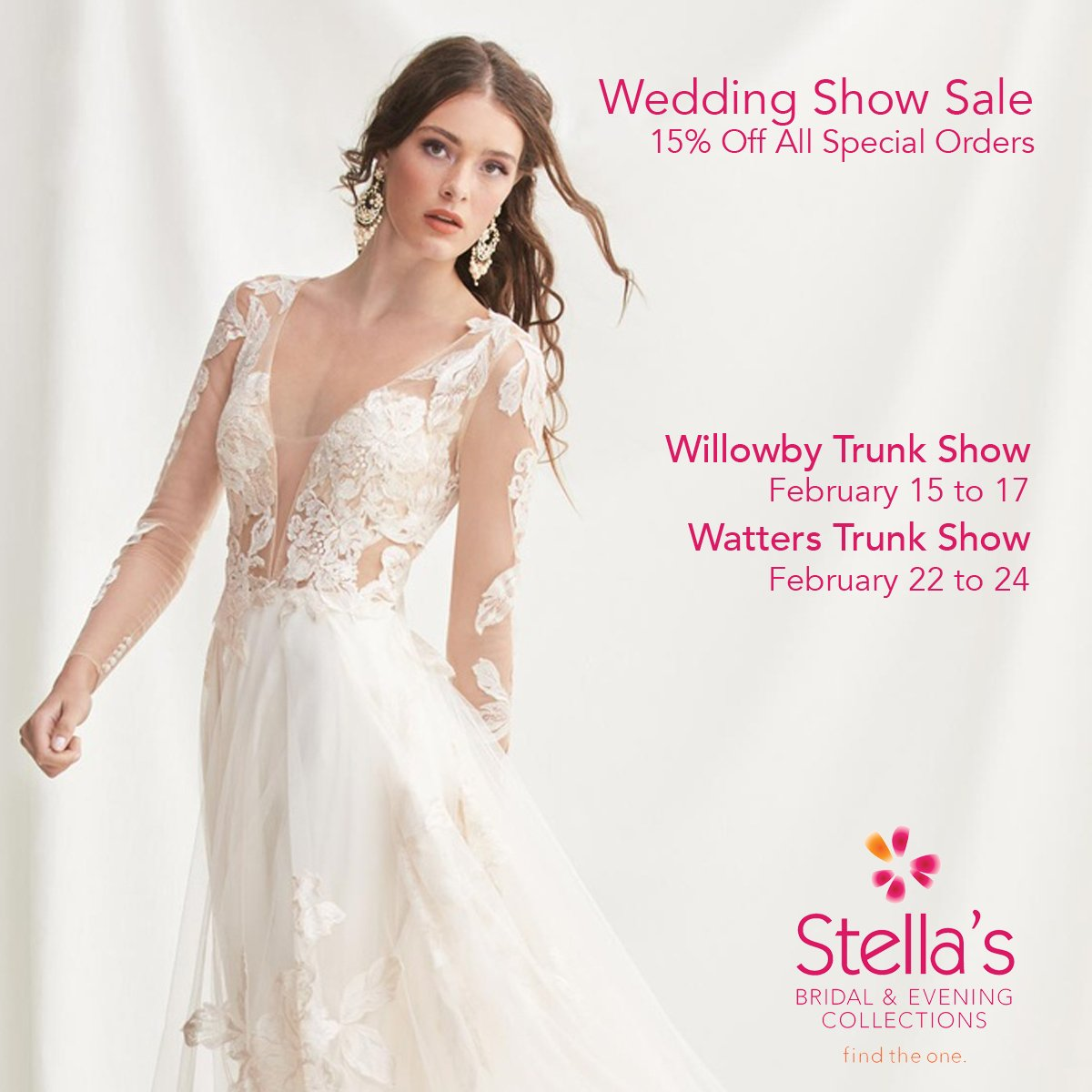 fe57ceb956a ... visit Stella s to experience the 2019 Willowby and Watters wedding gown  collections! These lines are exclusive to Stella s.