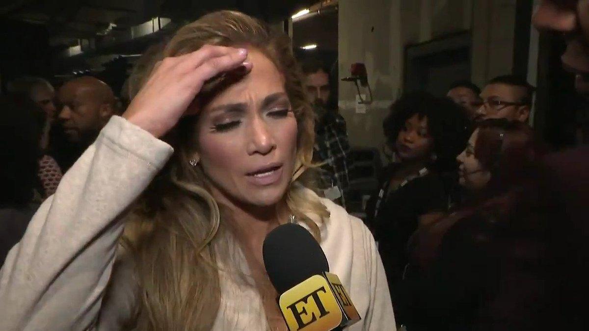 Entertainment Tonight's photo on Jennifer Lopez