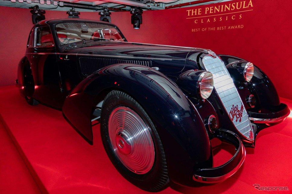 世界最高のクラシックカー賞、1937年型アルファロメオ 8C 2900Bベルリネッタ が受賞 http://dlvr.it/QycwYs