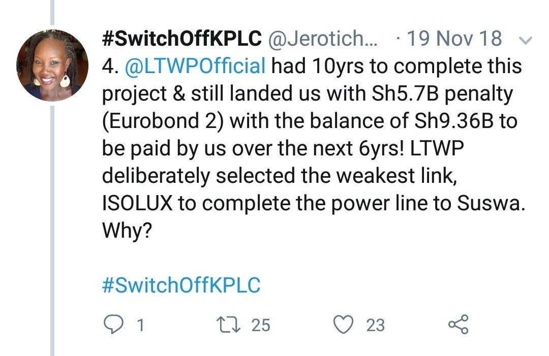 #SwitchOffKPLC's photo on Another Monday