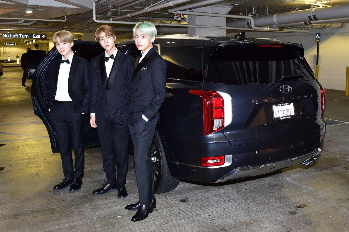 Hyundai Motor Group On Twitter Hmg Bts Makes An Appearance With Hyundai Palisade At The 2019 Grammys