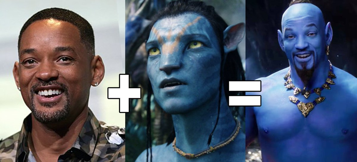 So, yeah.  #WillSmith #Aladdin #Aladdintrailer #Aladdin2019<br>http://pic.twitter.com/CEU3hAyure