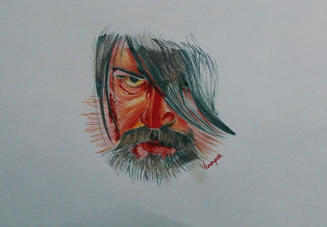 Vinayak N V On Twitter My Color Pencil Drawing Kgf Thenameisyash Kgfchapter2 Kgfmonsterhit Kgftamil Kgf50days Kgf Yash Kgf Kgf Https T Co Vlfgreakld