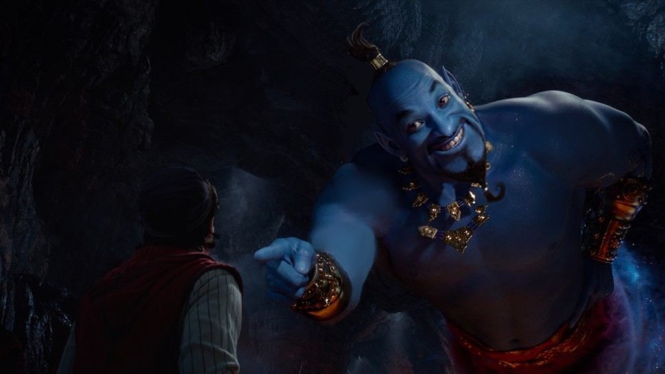 &quot;You really don&#39;t know who I am?&quot; #Genie #Aladdintrailer <br>http://pic.twitter.com/dEEVFx7f7U