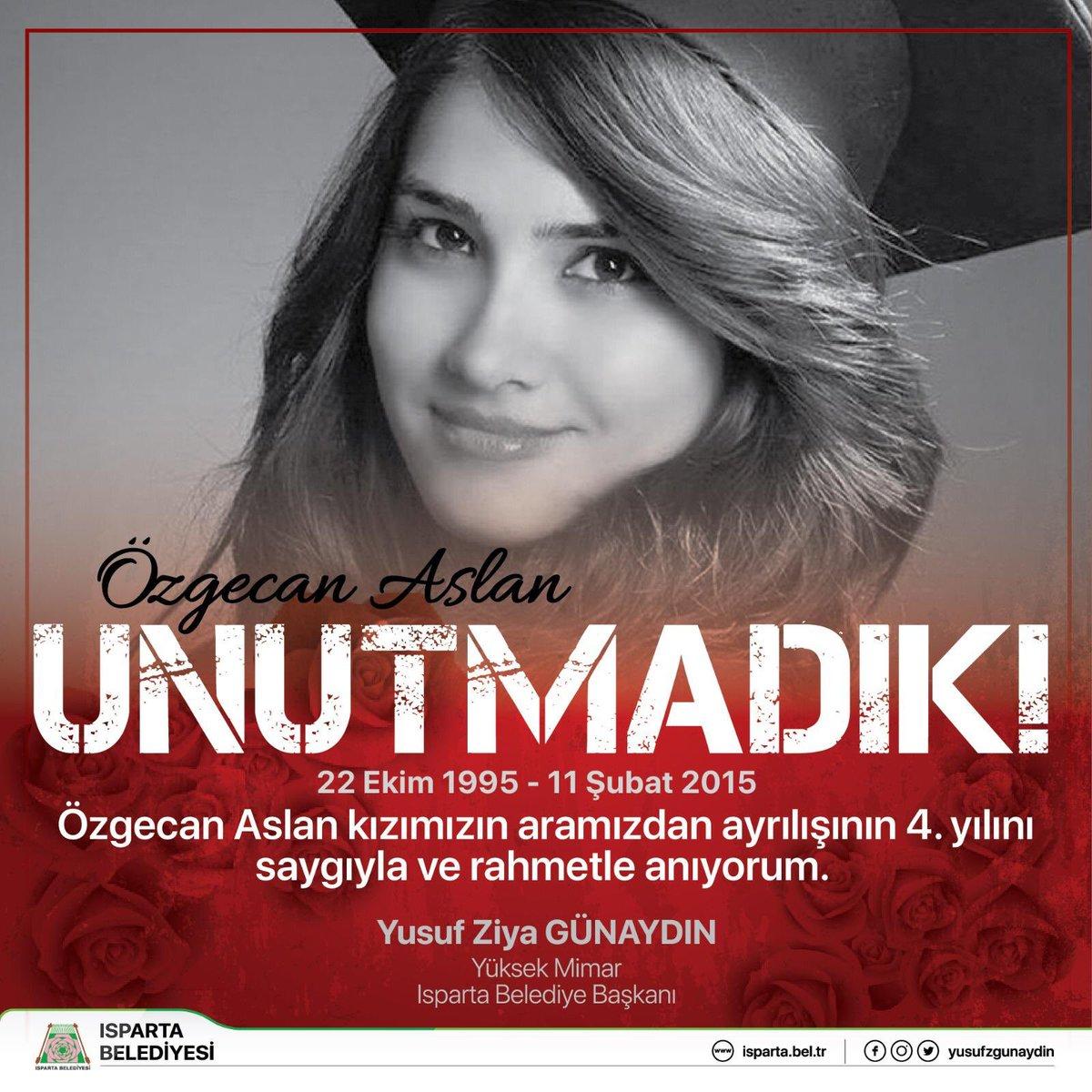 Özgecan Aslan; UNUTMADIK #ÖzgecanAslan