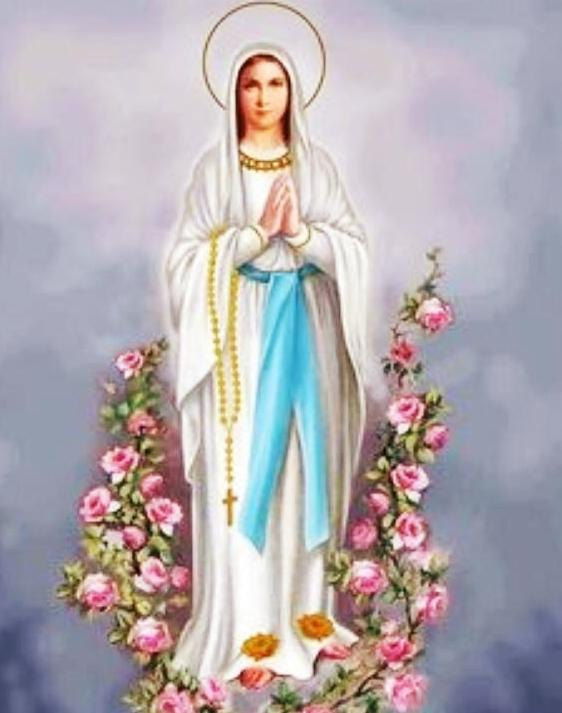 Maika's photo on Virgen de Lourdes